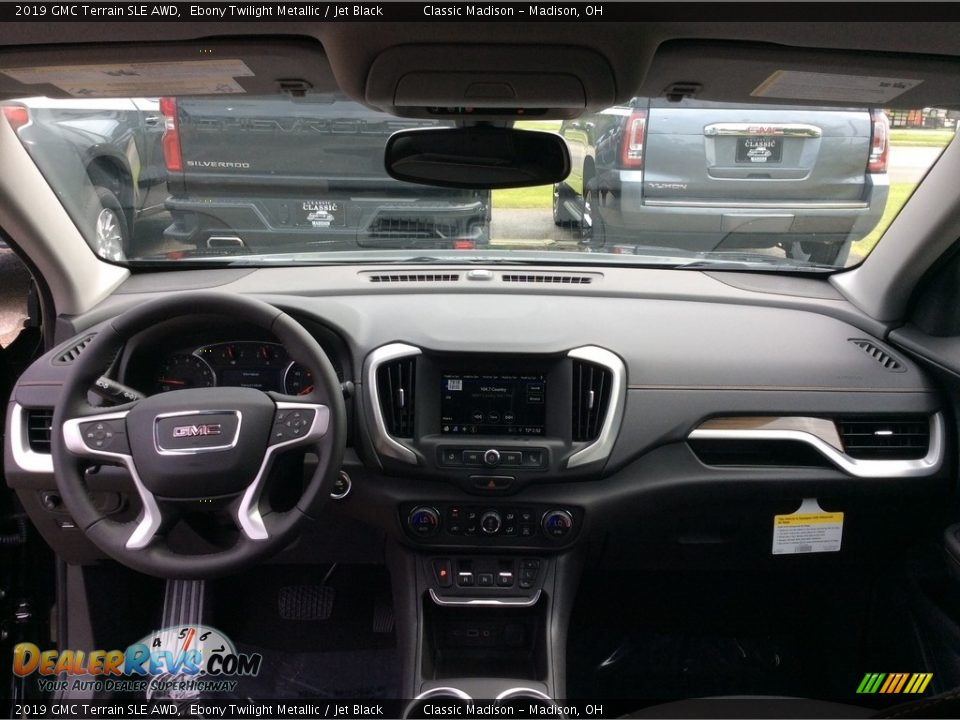 2019 GMC Terrain SLE AWD Ebony Twilight Metallic / Jet Black Photo #11