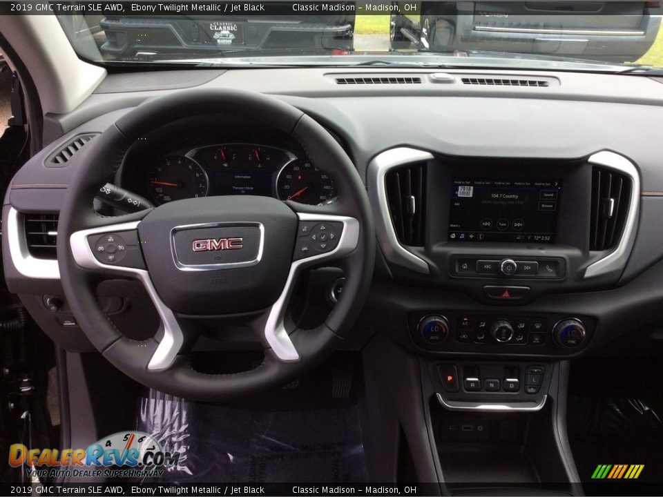 2019 GMC Terrain SLE AWD Ebony Twilight Metallic / Jet Black Photo #12