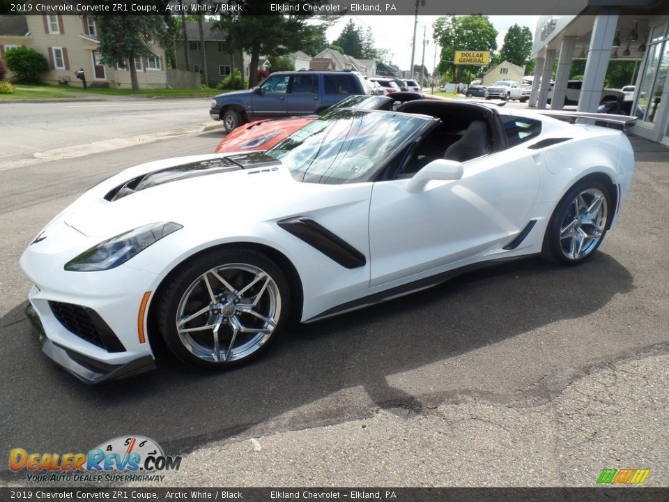 2019 Chevrolet Corvette ZR1 Coupe Arctic White / Black Photo #1