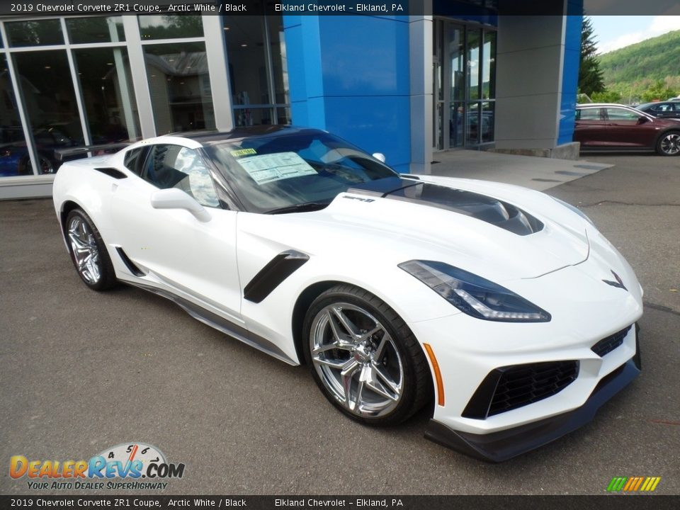 Arctic White 2019 Chevrolet Corvette ZR1 Coupe Photo #9