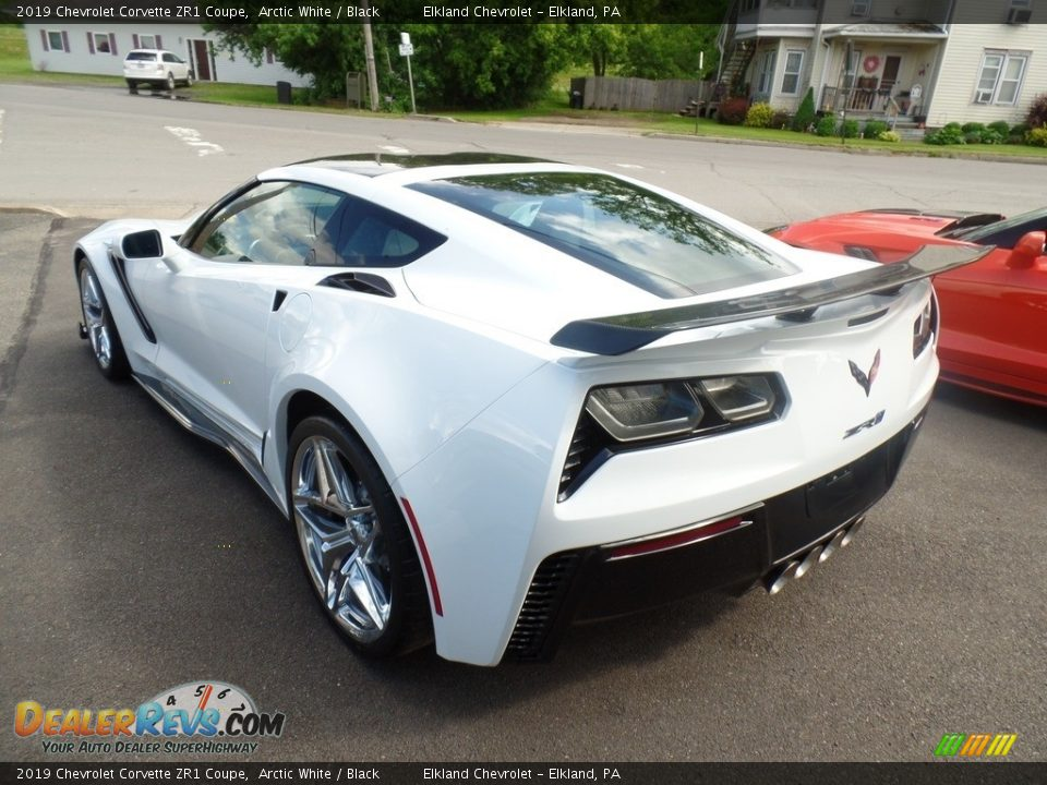 2019 Chevrolet Corvette ZR1 Coupe Arctic White / Black Photo #13