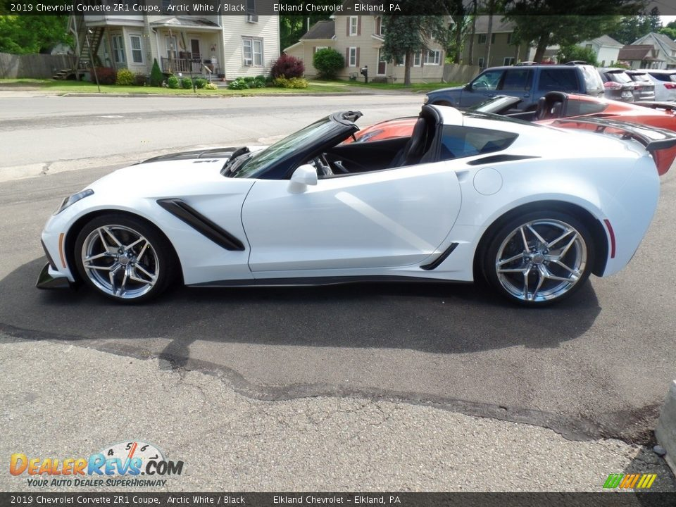 Arctic White 2019 Chevrolet Corvette ZR1 Coupe Photo #14