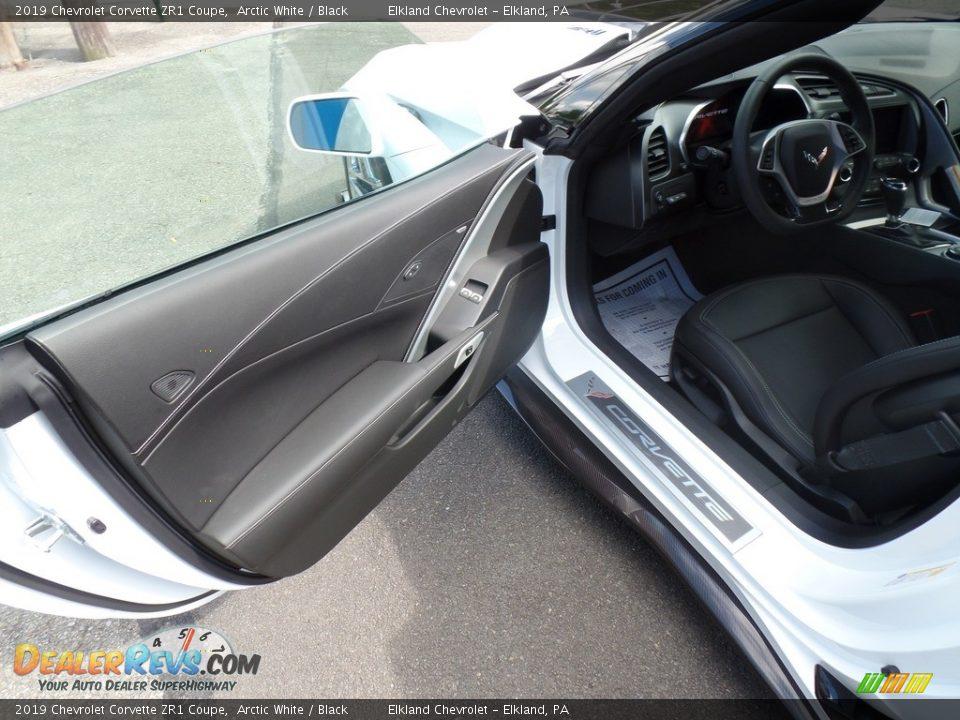 2019 Chevrolet Corvette ZR1 Coupe Arctic White / Black Photo #20