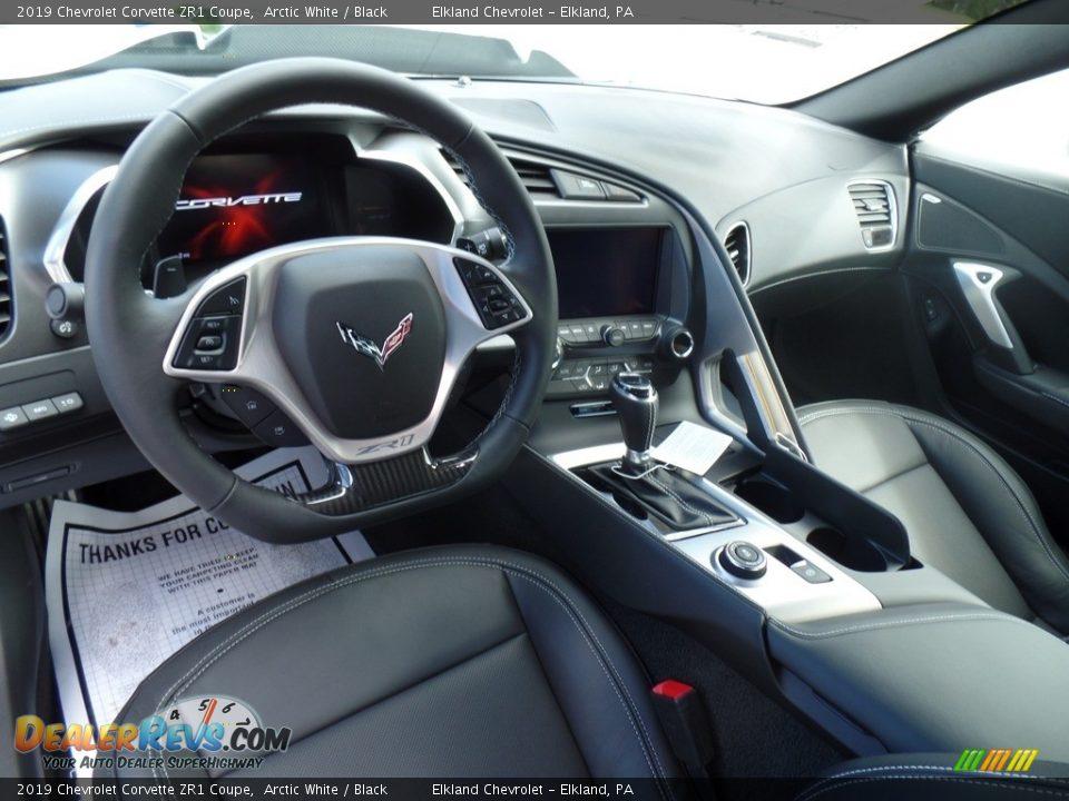 Front Seat of 2019 Chevrolet Corvette ZR1 Coupe Photo #23