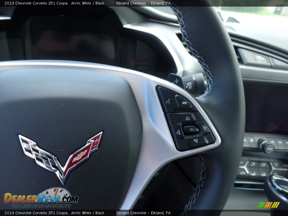 2019 Chevrolet Corvette ZR1 Coupe Steering Wheel Photo #26