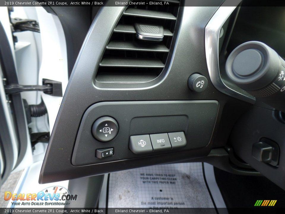 Controls of 2019 Chevrolet Corvette ZR1 Coupe Photo #29