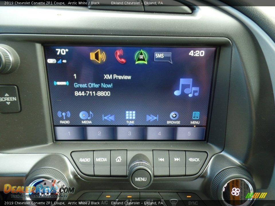 Controls of 2019 Chevrolet Corvette ZR1 Coupe Photo #32