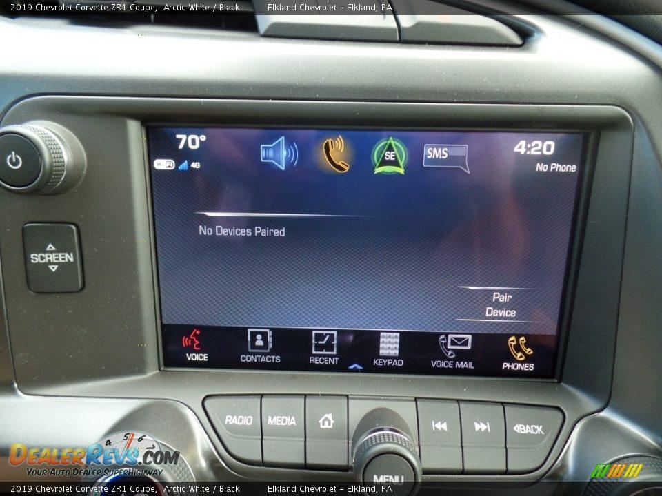 Controls of 2019 Chevrolet Corvette ZR1 Coupe Photo #33