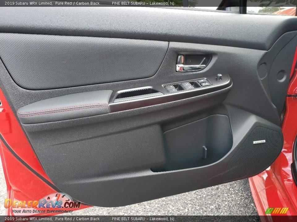 Door Panel of 2019 Subaru WRX Limited Photo #7