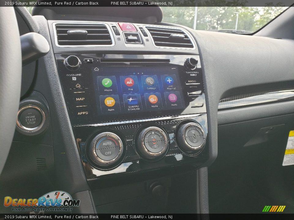 Controls of 2019 Subaru WRX Limited Photo #9