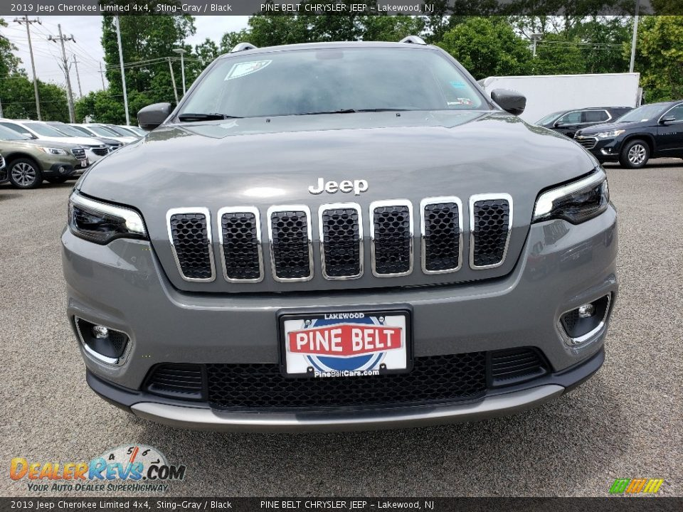 2019 Jeep Cherokee Limited 4x4 Sting-Gray / Black Photo #2