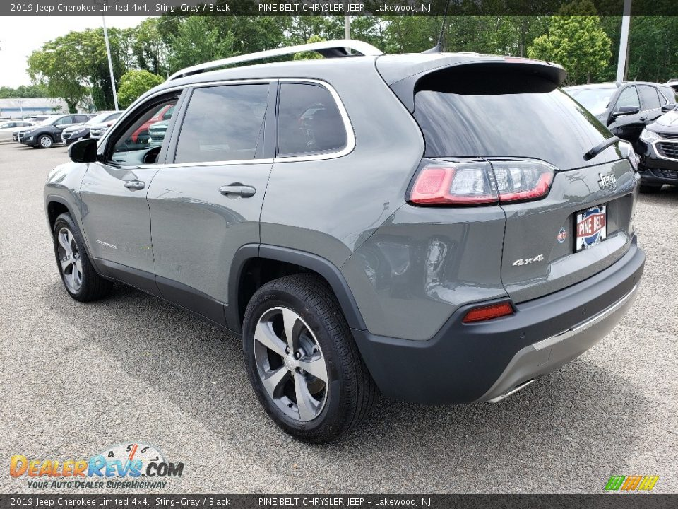 2019 Jeep Cherokee Limited 4x4 Sting-Gray / Black Photo #4