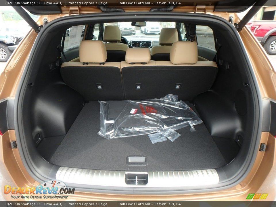 2020 Kia Sportage SX Turbo AWD Burnished Copper / Beige Photo #4