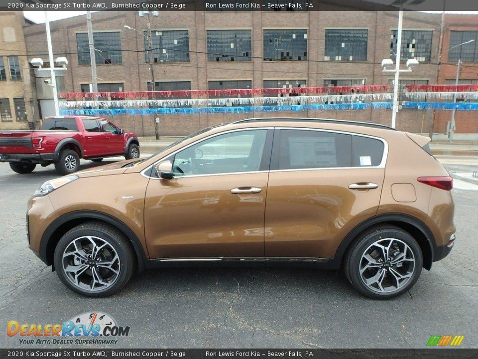 Burnished Copper 2020 Kia Sportage SX Turbo AWD Photo #6