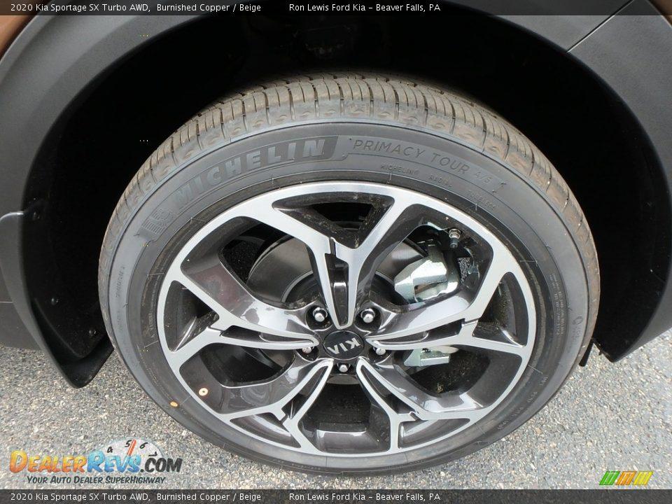 2020 Kia Sportage SX Turbo AWD Wheel Photo #10