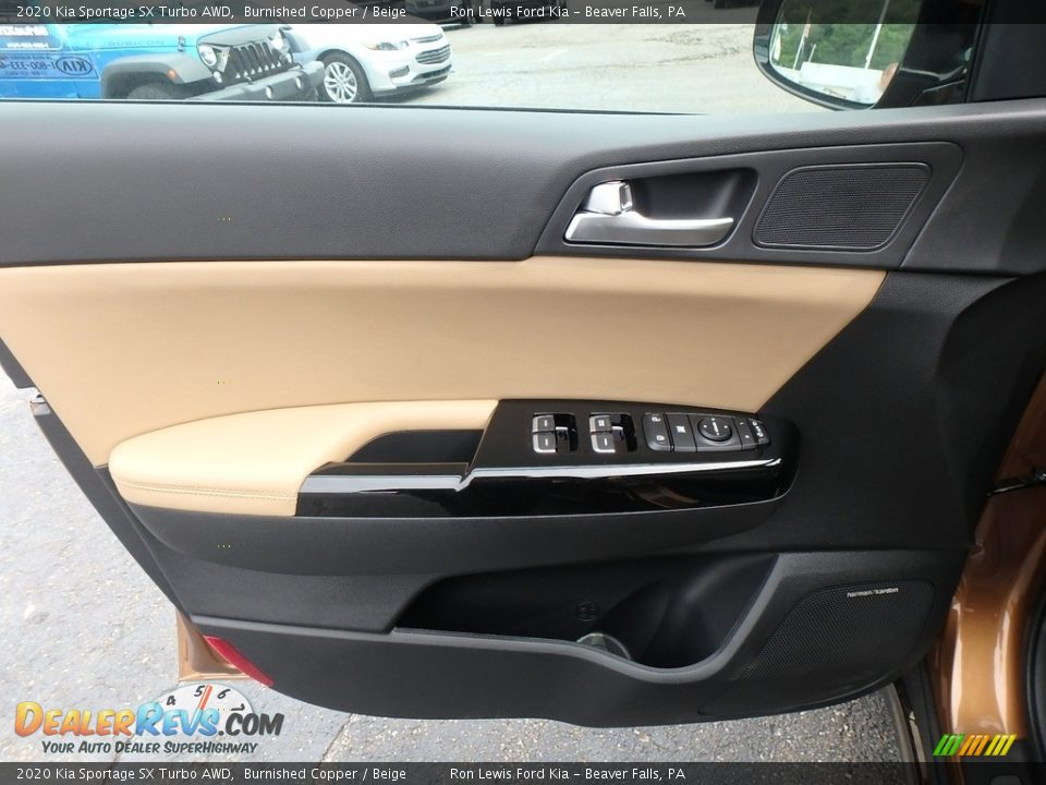 Door Panel of 2020 Kia Sportage SX Turbo AWD Photo #14