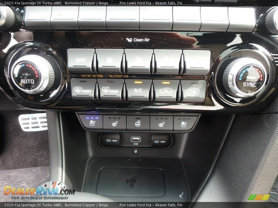 Controls of 2020 Kia Sportage SX Turbo AWD Photo #18