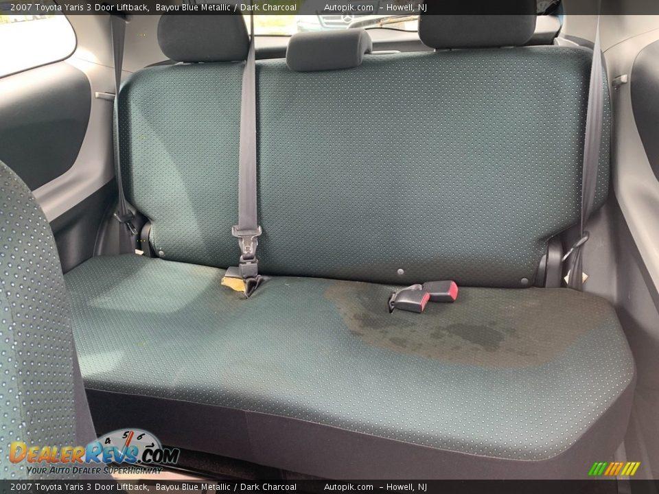 2007 Toyota Yaris 3 Door Liftback Bayou Blue Metallic / Dark Charcoal Photo #11