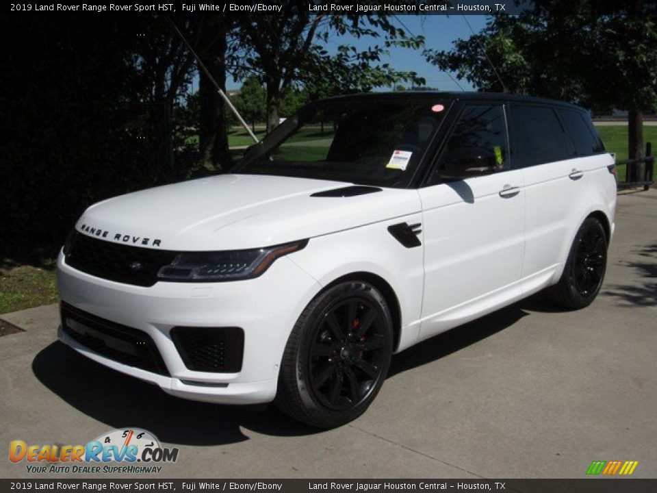 2019 Land Rover Range Rover Sport HST Fuji White / Ebony/Ebony Photo #10