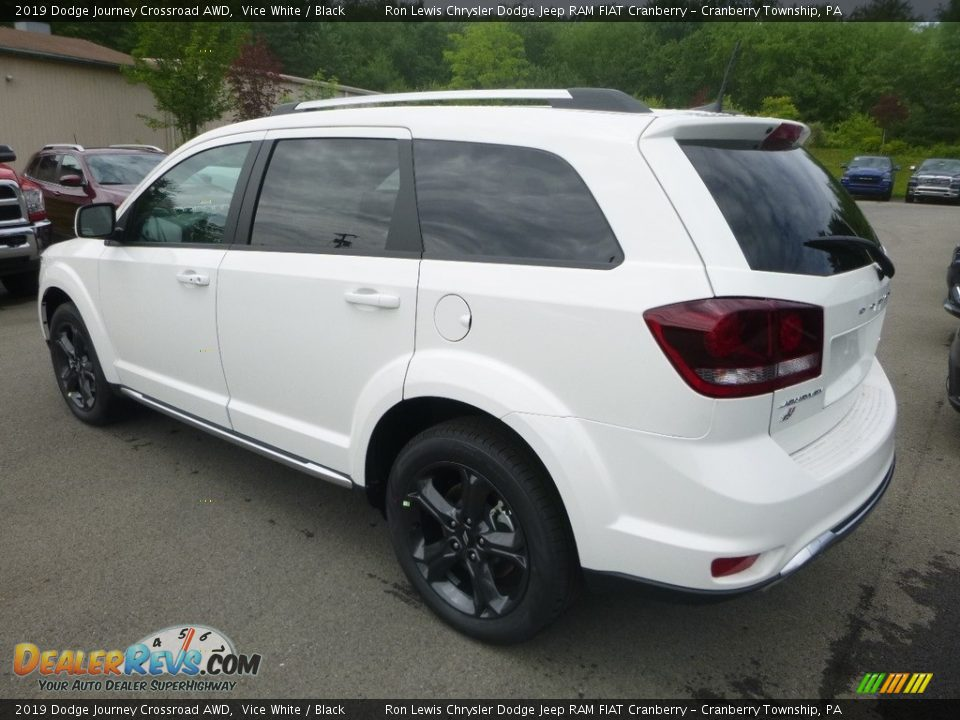 2019 Dodge Journey Crossroad AWD Vice White / Black Photo #3