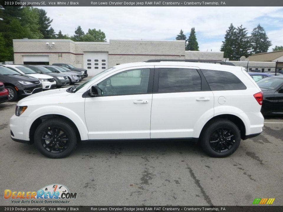 2019 Dodge Journey SE Vice White / Black Photo #2
