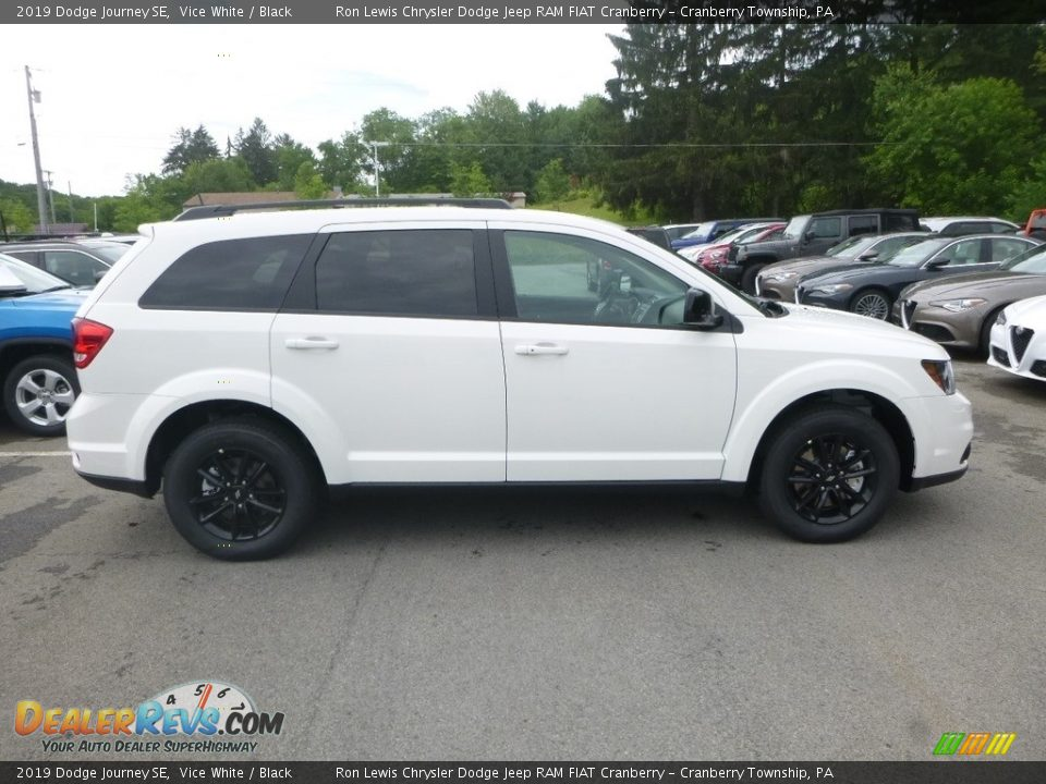 2019 Dodge Journey SE Vice White / Black Photo #6