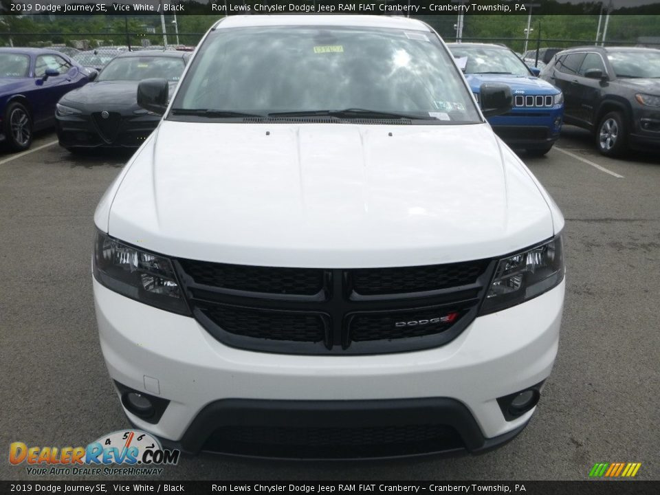 2019 Dodge Journey SE Vice White / Black Photo #8