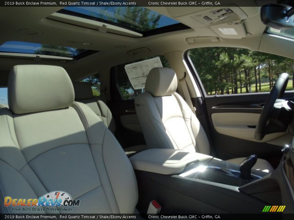 2019 Buick Enclave Premium Red Quartz Tintcoat / Shale/Ebony Accents Photo #31
