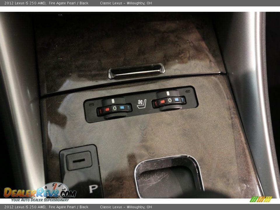 2012 Lexus IS 250 AWD Fire Agate Pearl / Black Photo #13