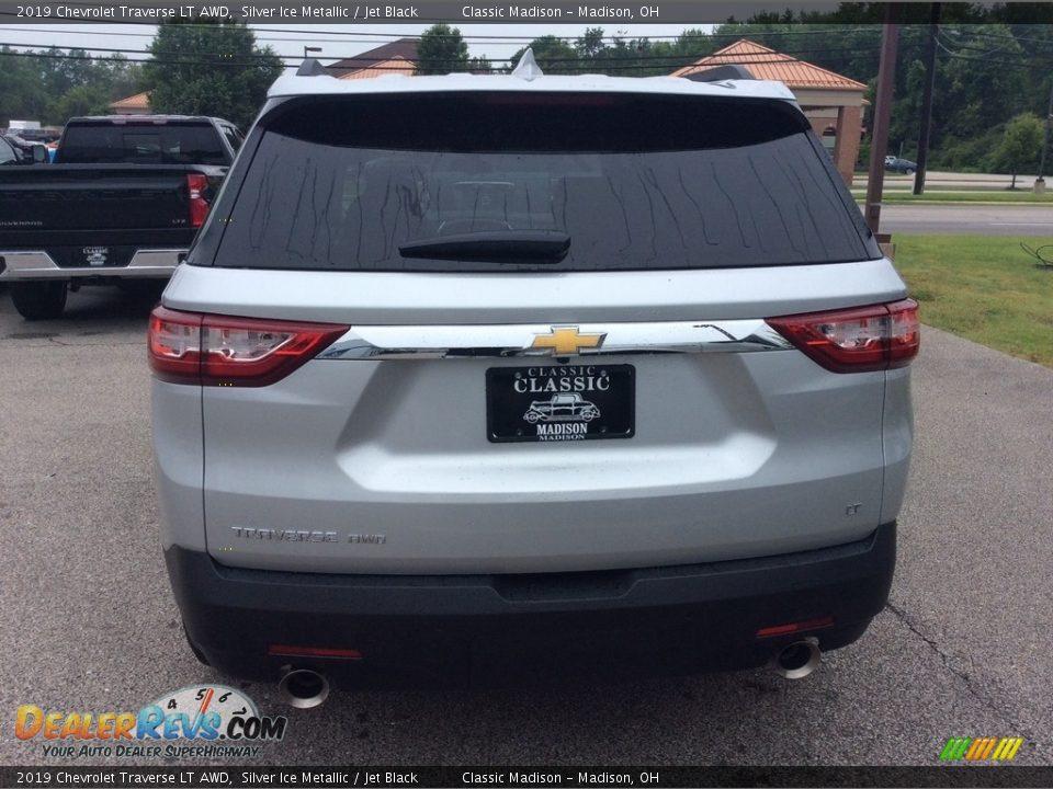 2019 Chevrolet Traverse LT AWD Silver Ice Metallic / Jet Black Photo #6