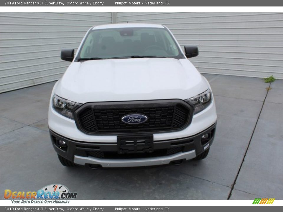 2019 Ford Ranger XLT SuperCrew Oxford White / Ebony Photo #3