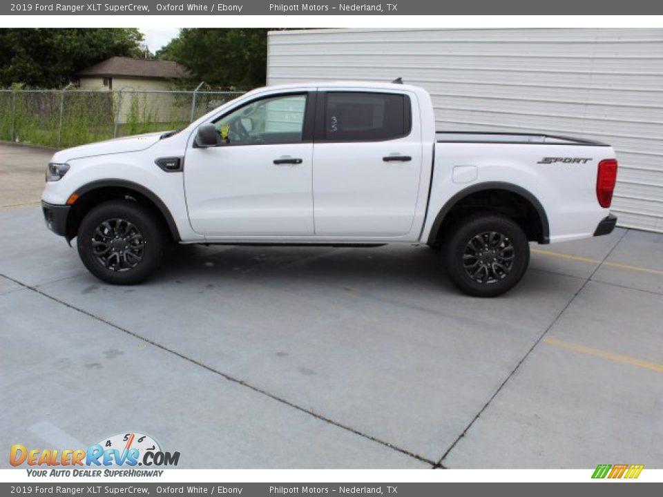 2019 Ford Ranger XLT SuperCrew Oxford White / Ebony Photo #6