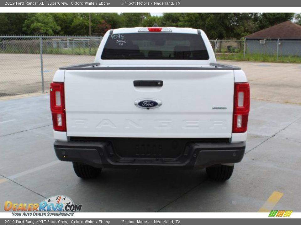 2019 Ford Ranger XLT SuperCrew Oxford White / Ebony Photo #8