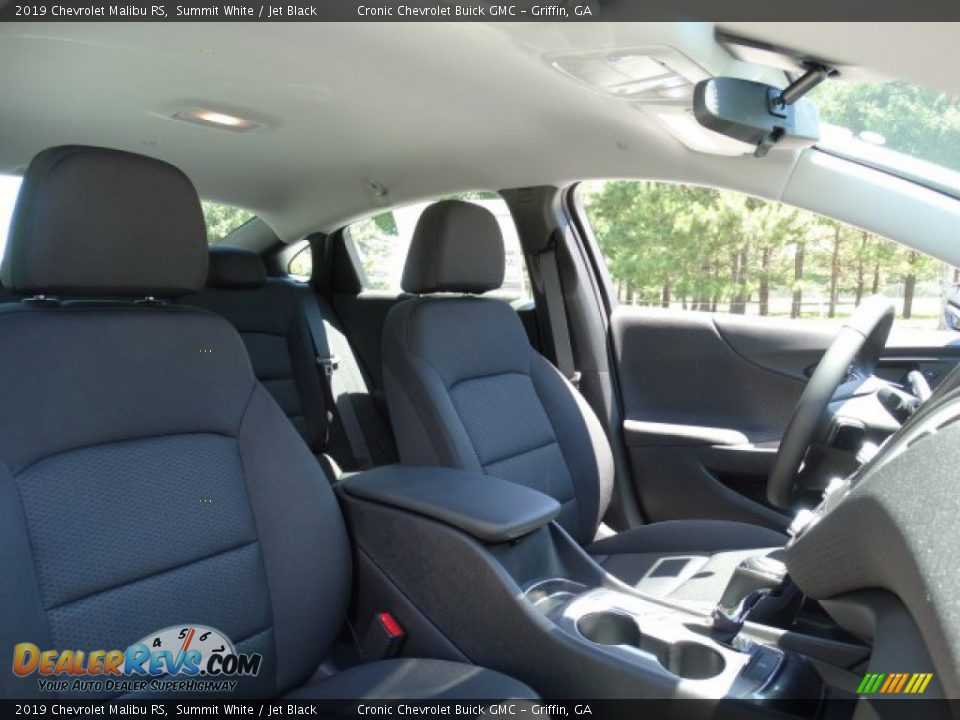 2019 Chevrolet Malibu RS Summit White / Jet Black Photo #25