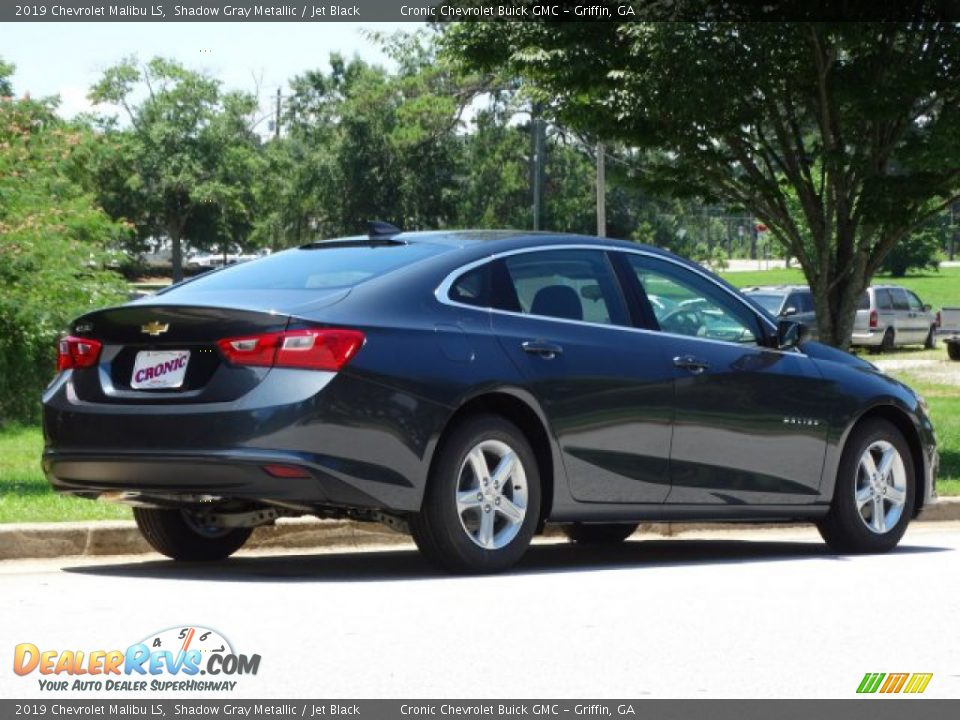 2019 Chevrolet Malibu LS Shadow Gray Metallic / Jet Black Photo #3