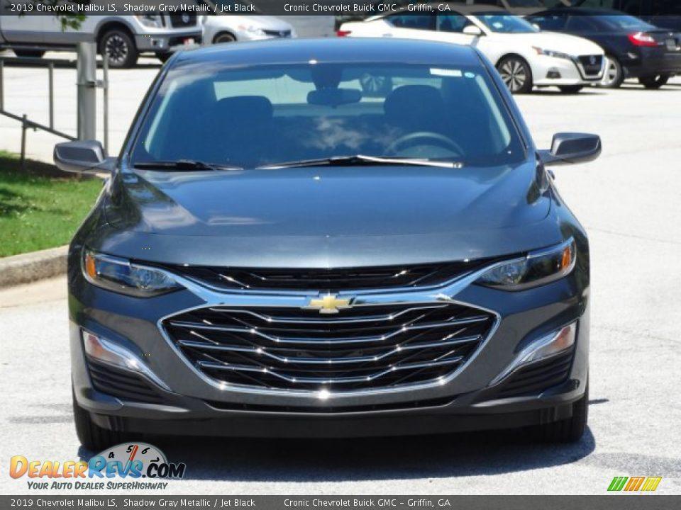 2019 Chevrolet Malibu LS Shadow Gray Metallic / Jet Black Photo #4