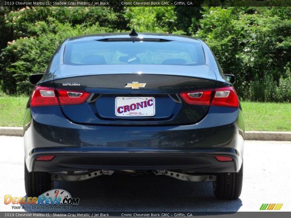 2019 Chevrolet Malibu LS Shadow Gray Metallic / Jet Black Photo #7