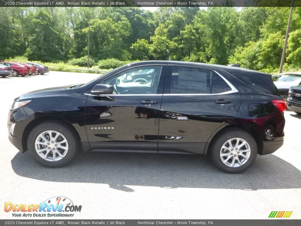 Mosaic Black Metallic 2020 Chevrolet Equinox LT AWD Photo #3