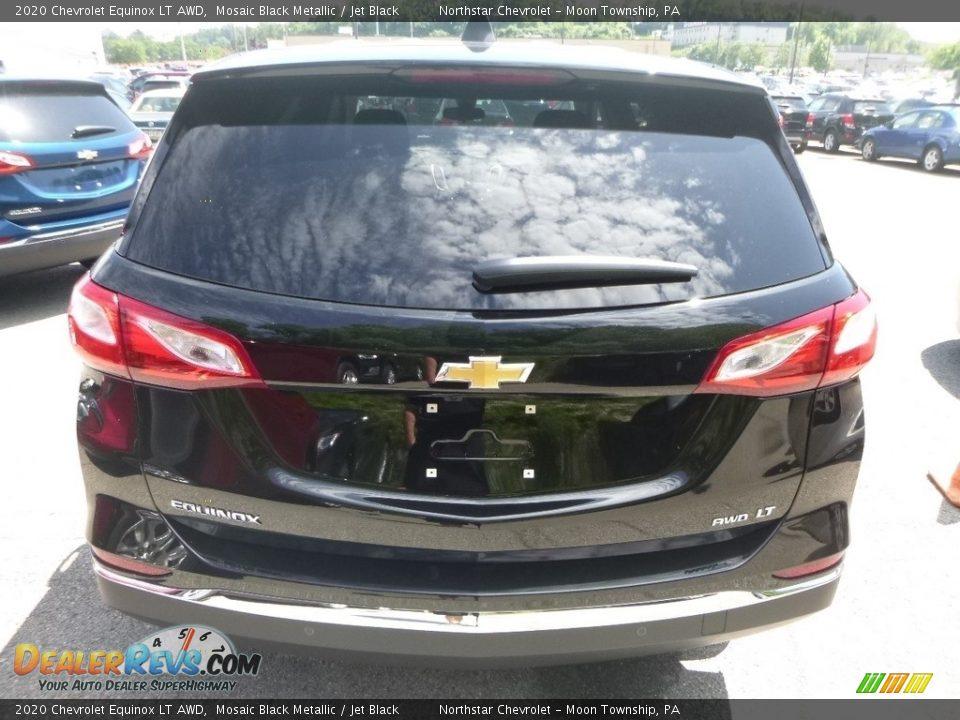 2020 Chevrolet Equinox LT AWD Mosaic Black Metallic / Jet Black Photo #5