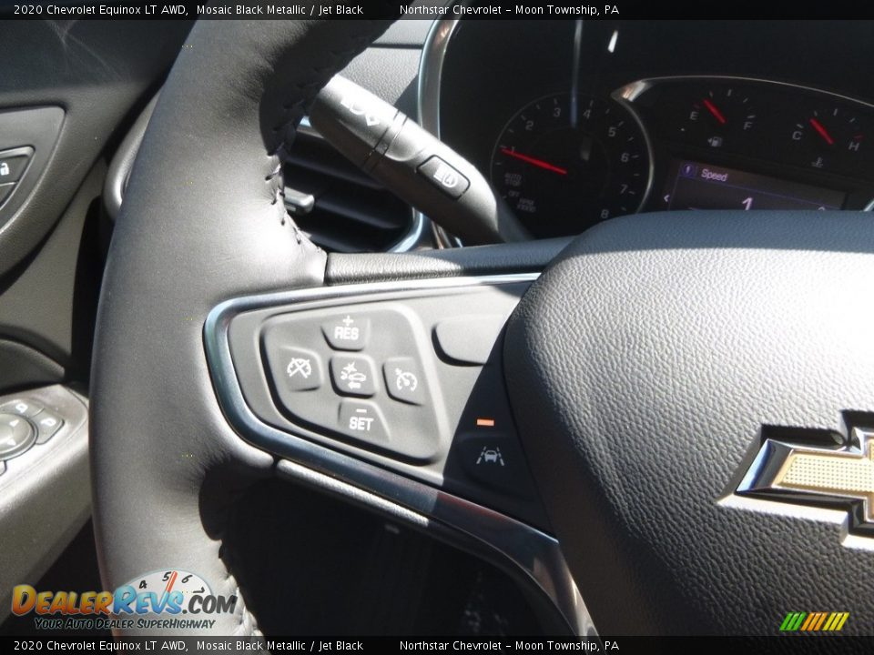 2020 Chevrolet Equinox LT AWD Steering Wheel Photo #20