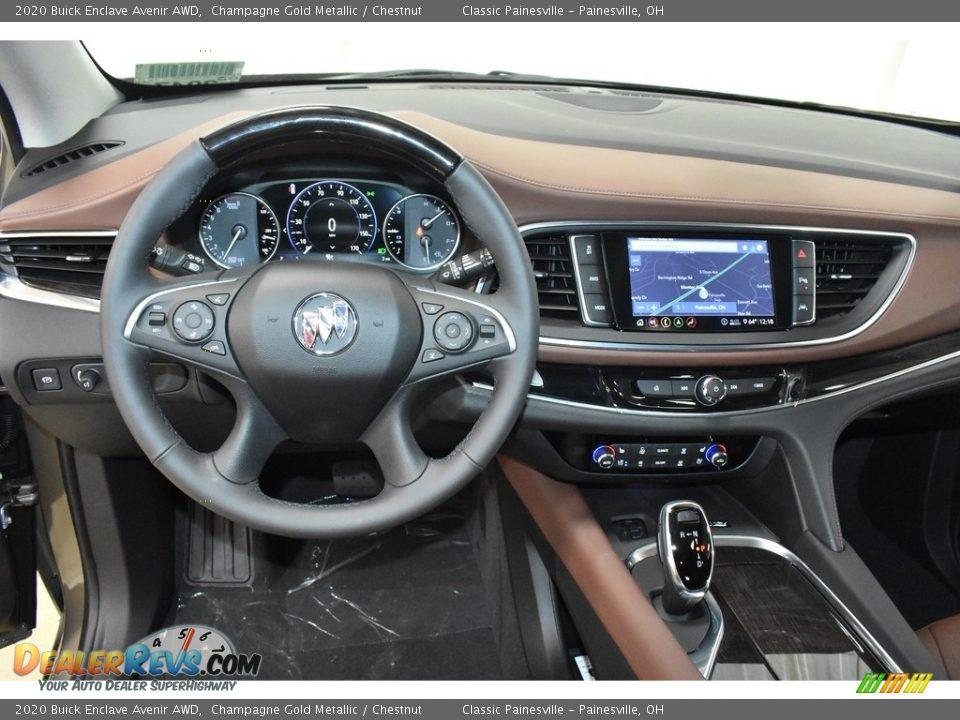 Dashboard of 2020 Buick Enclave Avenir AWD Photo #10