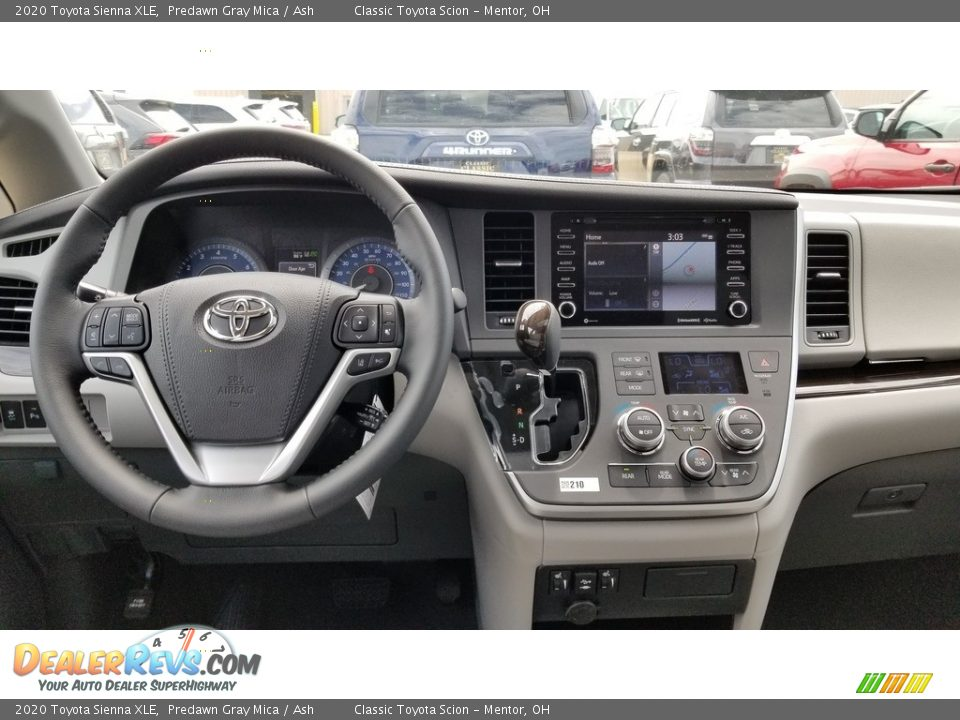 2020 Toyota Sienna XLE Predawn Gray Mica / Ash Photo #4