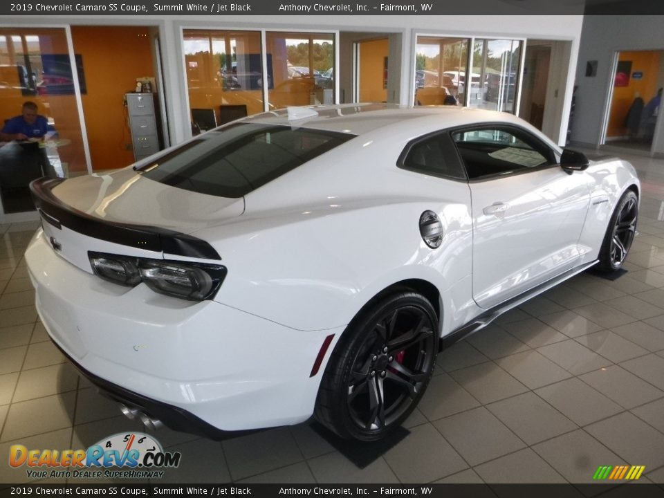 2019 Chevrolet Camaro SS Coupe Summit White / Jet Black Photo #4