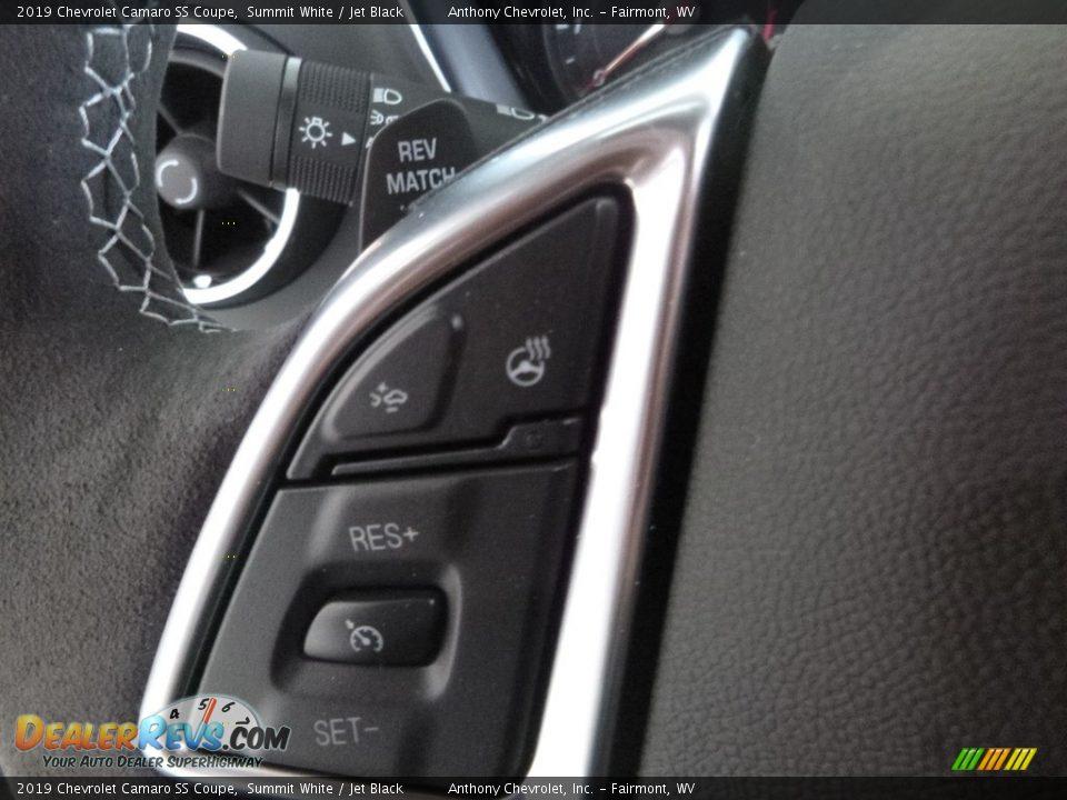 2019 Chevrolet Camaro SS Coupe Summit White / Jet Black Photo #18