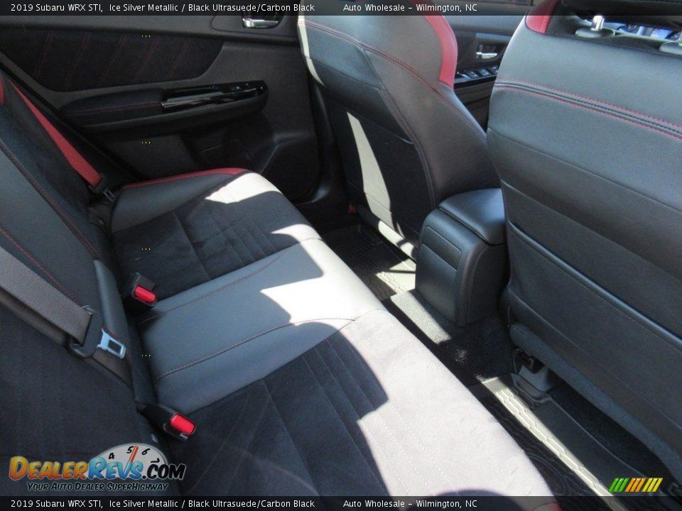 2019 Subaru WRX STI Ice Silver Metallic / Black Ultrasuede/Carbon Black Photo #13