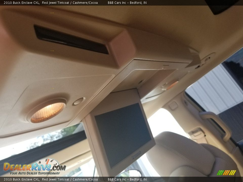 2010 Buick Enclave CXL Red Jewel Tintcoat / Cashmere/Cocoa Photo #18