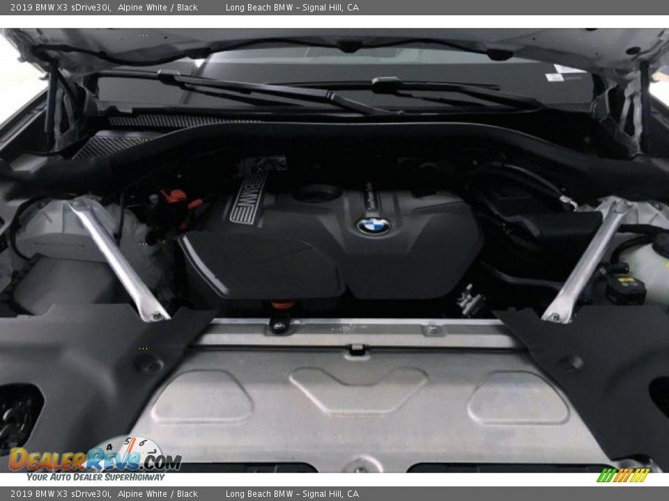 2019 BMW X3 sDrive30i Alpine White / Black Photo #9