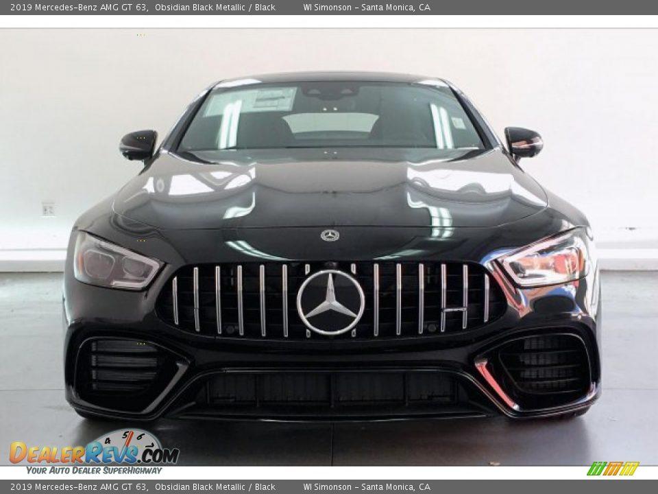 2019 Mercedes-Benz AMG GT 63 Obsidian Black Metallic / Black Photo #2