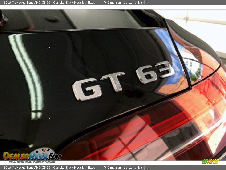 2019 Mercedes-Benz AMG GT 63 Obsidian Black Metallic / Black Photo #7