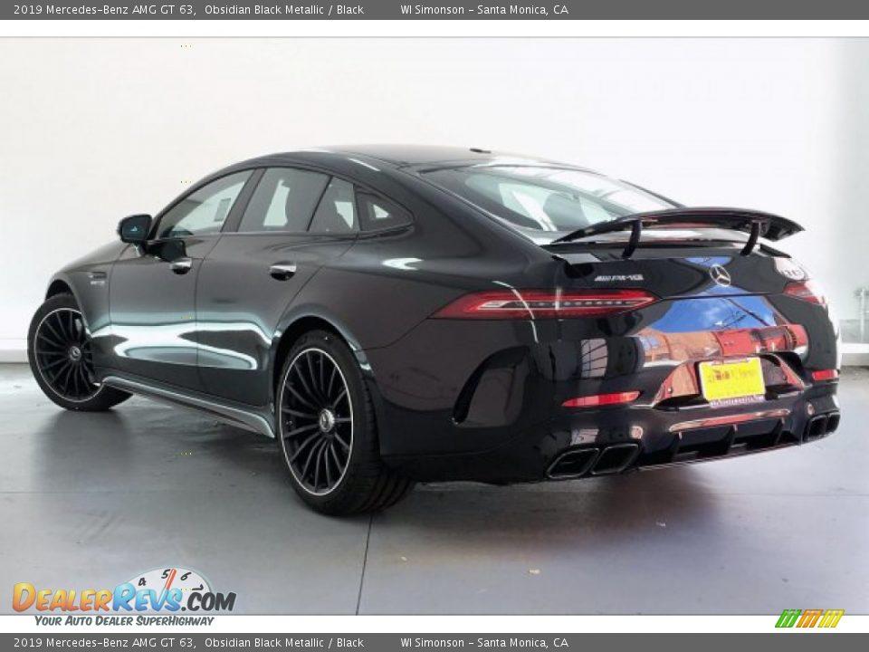 2019 Mercedes-Benz AMG GT 63 Obsidian Black Metallic / Black Photo #10